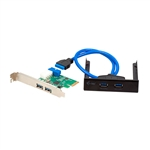 I-Tec USB 3.0 Extension Kit 4x USB 3.0 - Tarjeta PCI-e