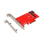 I-Tec M.2 PCIe NVMe & M.2 SATA - Adaptador