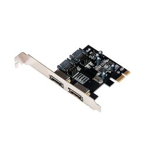 ITec PCIe Card 2xSATA2  2xESATA  Adaptador