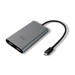 I-Tec Thunderbolt 3 a 2 Display Port - Adaptador