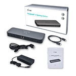 I-Tec 2x thunderbolt 3 HDMI USB 3.0 LAN - Dock