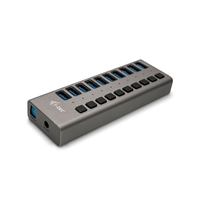 I-Tec USB 3.0 10 puertos 48W - Hub USB