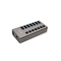 I-Tec USB 3.0 7 puertos 36 W - Hub USB