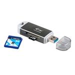 I-Tec USB 3.0 dual - Lector de tarjetas