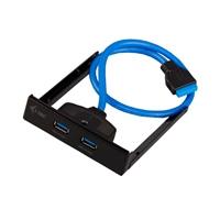 I-Tec USB 3.0 x 2 front panel - Adaptador