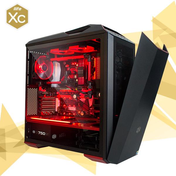 ILIFE XC RED GUARDIAN 5 I7 7700K 32 1TB SSD 1080 Ti – Equipo