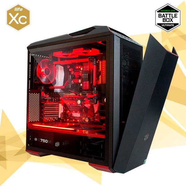 ILIFE XC RED GUARDIAN 6 I7 8700K 32 1TB SSD 1080 Ti – Equipo
