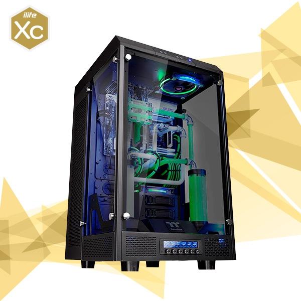 ILIFE XC Black Titan 2 I7 8700K 32 1TB+4T 2×1080 Ti – Equipo