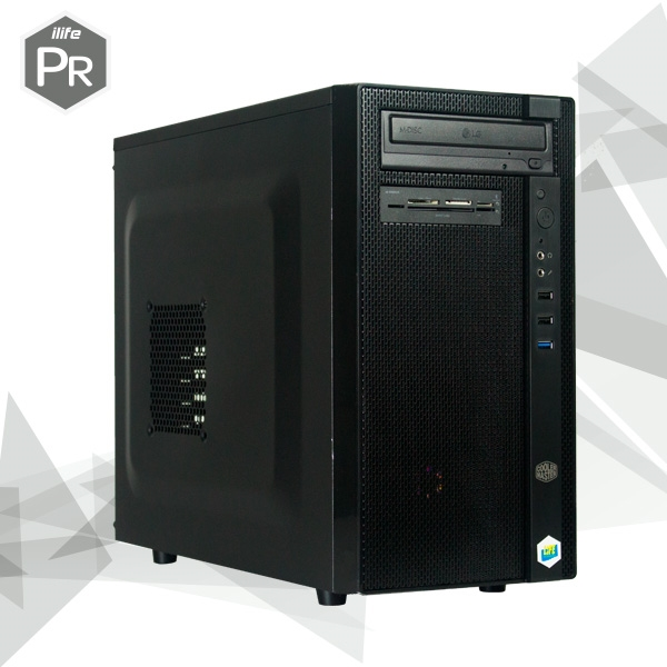 ILIFE PR30.20 INTEL i3 9100 8GB 250 W/MKB W10Pro 3Y - Equipo