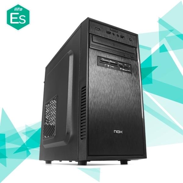 ILIFE ES400.10 AMD 3100 8GB VEGA 480GB GT710 - Equipo