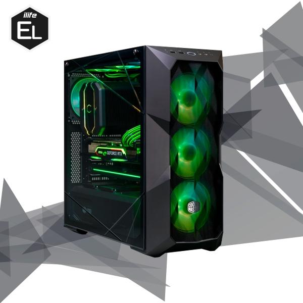 iLife Elite Blackhawk 8 Intel 10700 32G 500GB 3070  Equipo