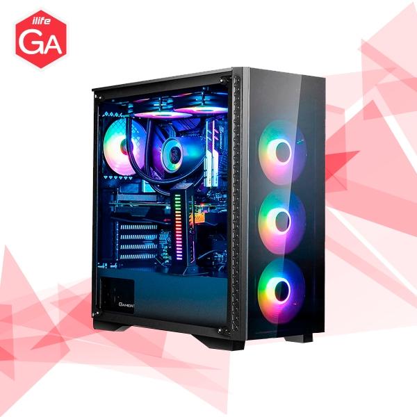 ILIFE GA70030 INTEL i5 10400F 8GB 500SDD RX5600XT  Equipo