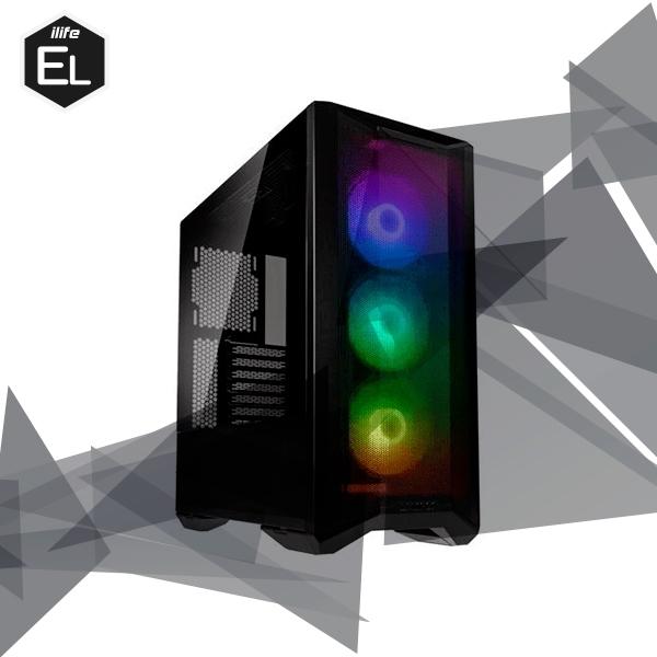 iLife Elite Platinum AMD 5600x 16GB 512GB  2TB RTX3060 Wifi  Equipo