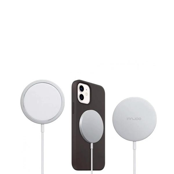 Innjoo Charging Safe 15W Blanco  Cargador Inalámbrico