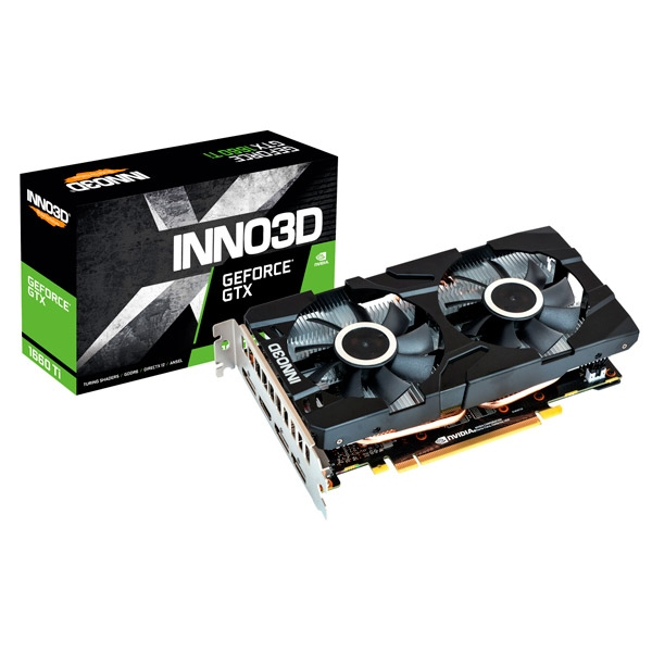 INNO3D GeForce GTX 1660 Ti Twin X2 6GB GDDR6 - Gráfica