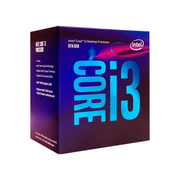 Intel Core i3 8100 3.60GHz 4 Nucleos – Procesador
