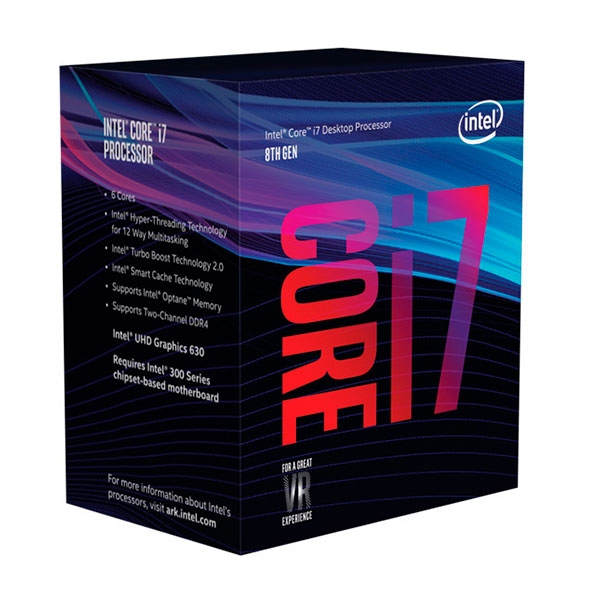 Intel Core i7 8700 4.60Ghz 6 Nucleos – Procesador