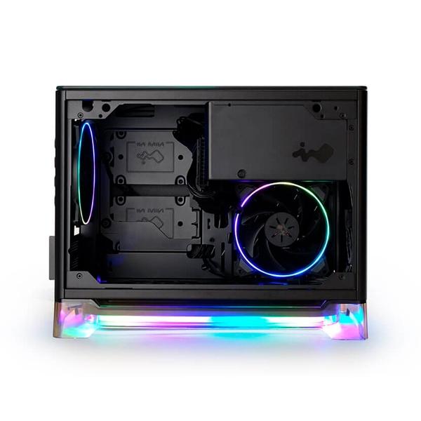 InWin A1 Plus Cristal Templado USB 30 Negro  Caja