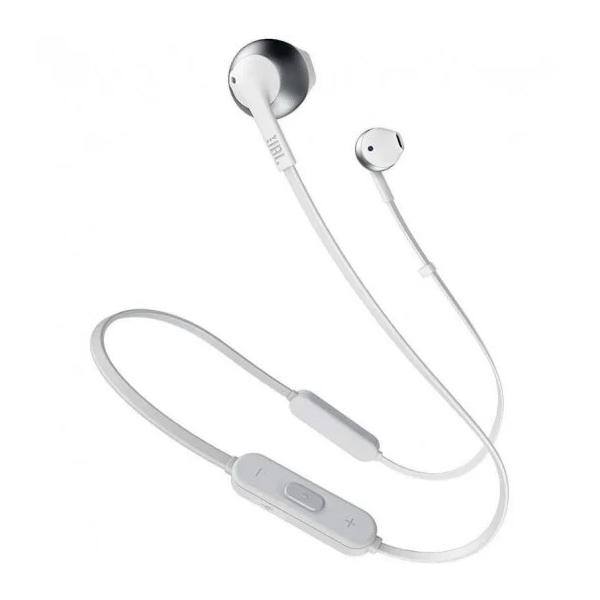 JBL Tune 205BT Plata Auriculares Bluetooth