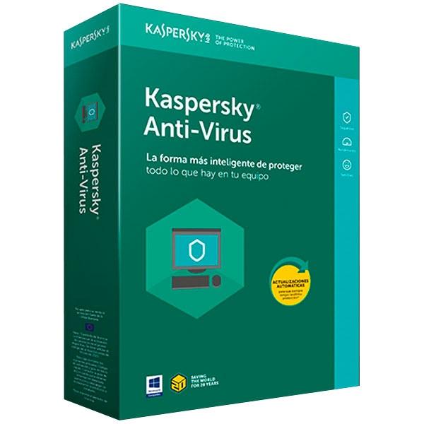 Kaspersky AntiVirus 2018 1 Licencia  Antivirus