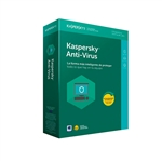 Kaspersky Anti-Virus 2019 3 Licencia - Antivirus