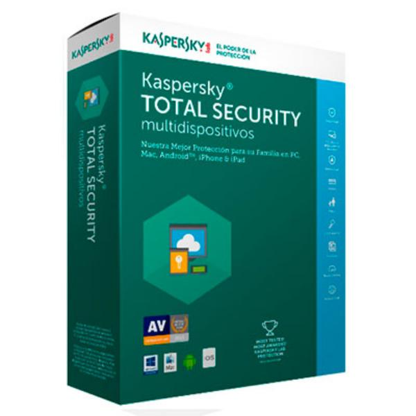 Kaspersky Total Security Multi Device 2017 5L  Antivirus