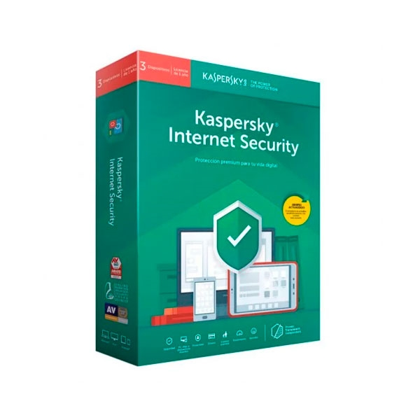 Kaspersky Internet Security Multi Device 2020 3L  Antivirus
