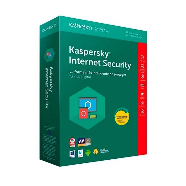 Kaspersky Internet Security Multi Devic 2018 10L  Antivirus