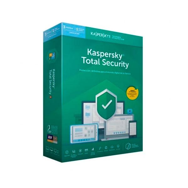 Kaspersky Total Security Multi Device 2019 3L  Antivirus