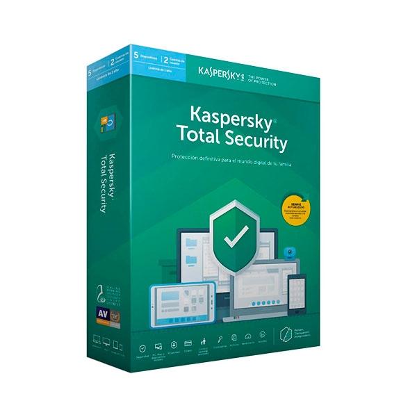 Kaspersky Total Security Multi Device 2019 5L  Antivirus
