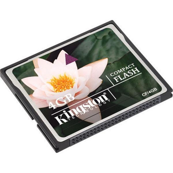 Kingston 4GB  Memoria CompactFlash