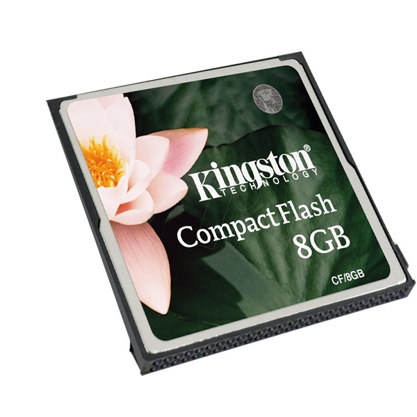 Kingston 8GB – Memoria CompactFlash