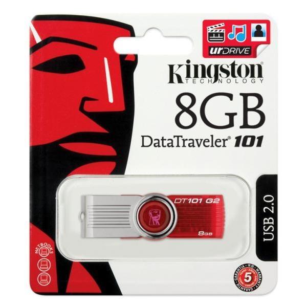 Kingston DataTraveler 101 G2 8GB – Pendrive
