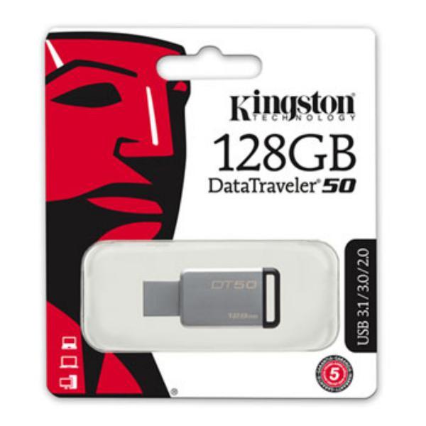 Kingston DataTraveler 50 128GB  Pendrive