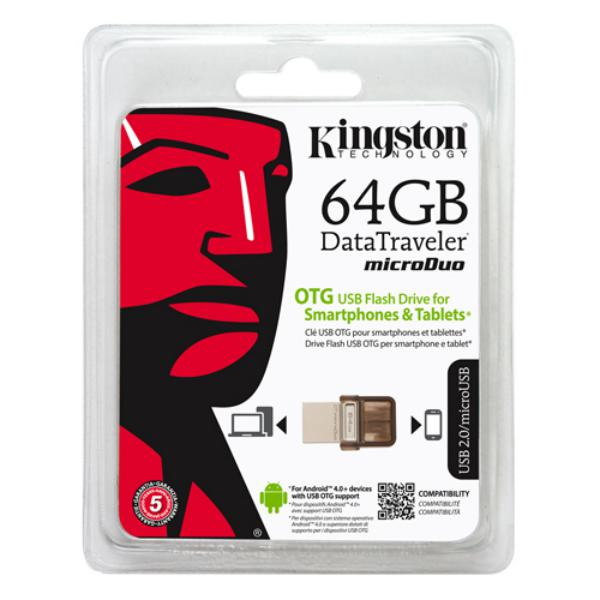 Kingston DataTraveler microDuo 64GB  Pendrive