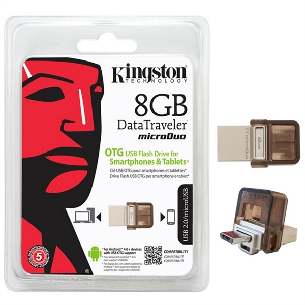 Kingston DataTraveler microDuo 8GB