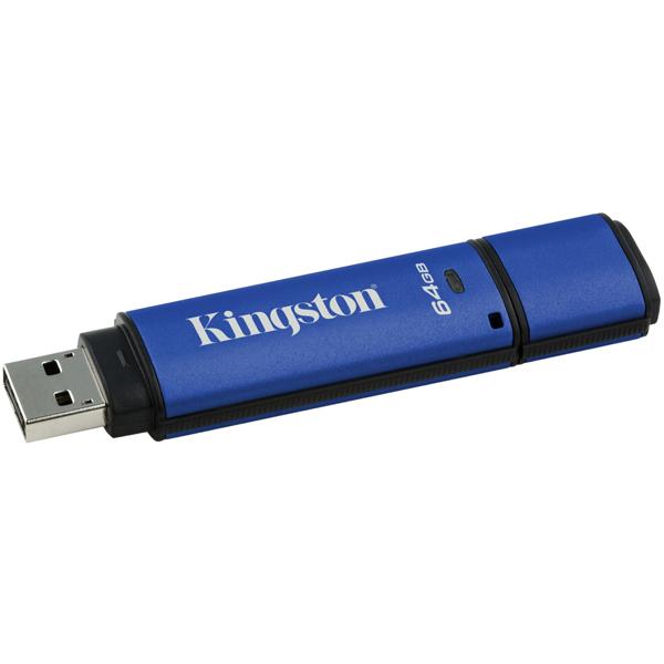 Kingston DataTraveler Vault Privacy 64GB MR  PenDrive