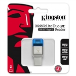 Kingston MobileLite Duo 3C - Lector de Memoria