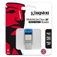 Kingston MobileLite Duo 3C – Lector de Memoria