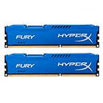 HyperX Fury DDR3 1600Mhz 16GB (2x8gb) - Memoria RAM