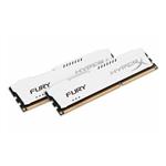 HyperX FURY White DDR3 1600MHz 16GB - Memoria RAM