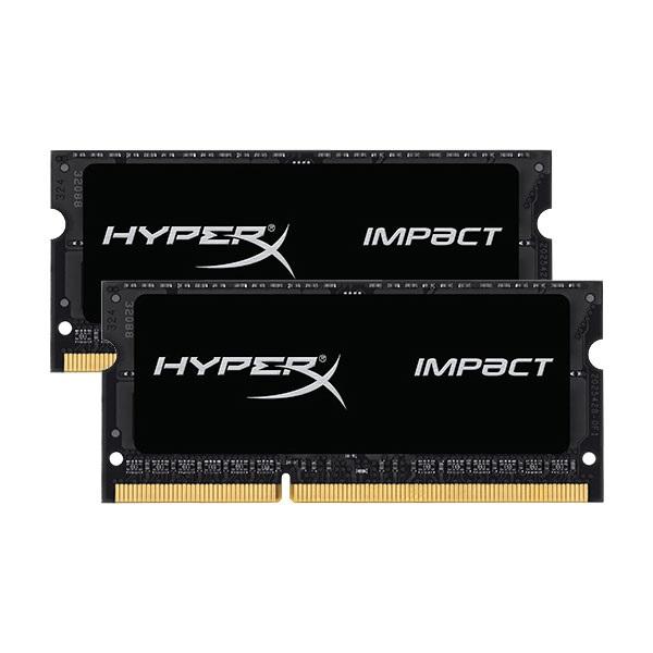 HyperX Impact DDR3 1600MHz 16GB (2×8) SO-DIMM – Memoria RAM