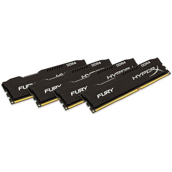 HyperX Fury DDR4 2133MHz 32GB (4×8) – Memoria RAM