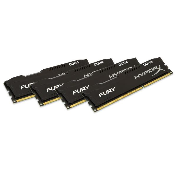 HyperX Fury DDR4 2666MHz (4×4) – Memoria RAM
