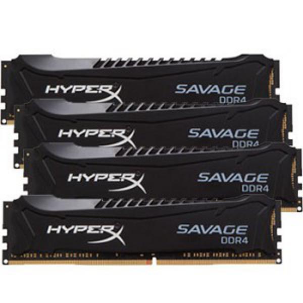 HyperX Savage DDR4 2666MHz 64GB (4×16) XMP – Memoria RAM