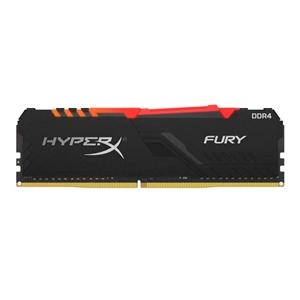 HyperX Fury RGB Black DDR4 3200 MHz 16GB FB4  Memoria RAM