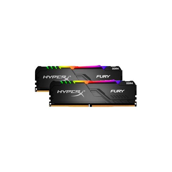 HyperX Fury RGB RAM 16 GB 2 x 8 GB 3600Mhz  DDR4