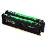 Kingston Fury Beast RGB DDR4 16GB 2 x 8GB 2666MHZ CL16  Memoria RAM