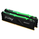 Kingston Fury Beast RGB DDR4 64GB 2 x 32GB 2666MHZ CL16  Memoria RAM