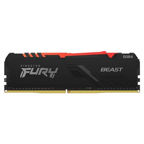 Kingston Fury Beast RGB DDR4 8GB 2666MHZ CL16 - Memoria RAM